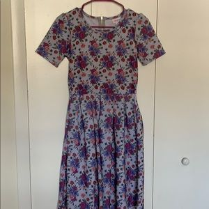 LAST CHANCE LulaRoe Amelia Floral Dress